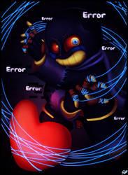 'eRorR'- Error Sans Speedpaint by rio-is-ok