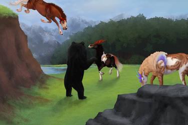WWU Grub - Hunting Bears by Razalin