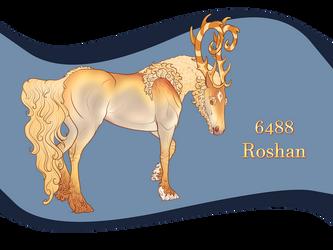 6488 Roshan by Razalin