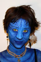 Avatar_face painting by Maiwen