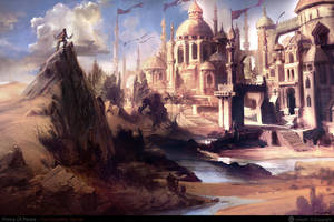 castle of prince of persia by NURO-art