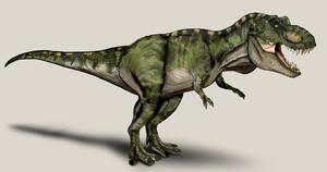 Jurassic Park /// T-Rex male by NikoRex