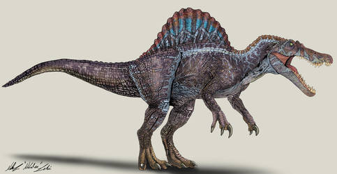 Jurassic Park /// Spinosaurus by NikoRex