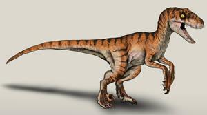 The Lost World Jurassic Park Velociraptor male by NikoRex