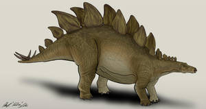Jurassic Park /// Stegosaurus by NikoRex