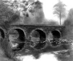 Glenbeigh Bridge by mbeckett