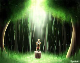 The Lost Woods by Spiritleaf7