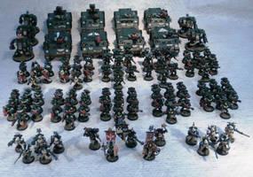 The 4th Company - on parade by Elmo9141