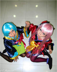 World's end dancehall Luka and Miku by AliceTheCrazy