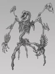 Bone Monster by zerow0