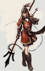 Korean female armor_r by zerow0