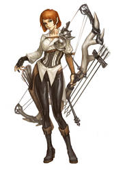 Character concept : Archer by zerow0