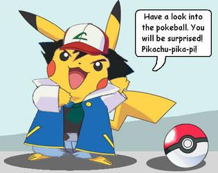 Pokemon Surprise by plushdragon