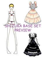 Paperdoll Shizuka: base set by BloodyPhoenix
