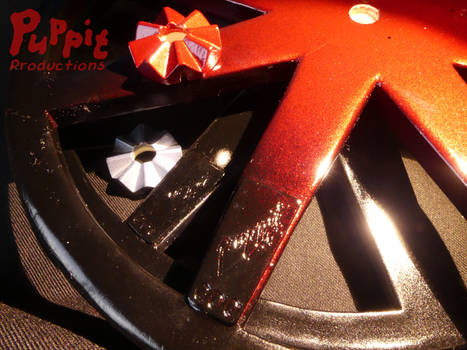 BJD wheelchair WIP: Puppit marked by PuppitProductions