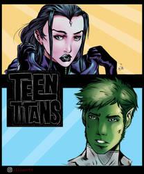 Teentitans by ClizarT