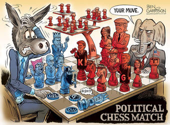 Political Chess Game by MattX125