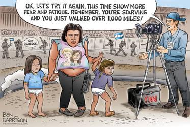 Fake News at the border by MattX125