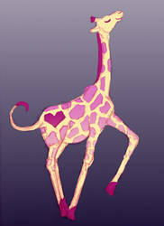 It's a Giraffe! by moodyblues