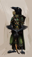 Kenku Ranger by SickJoe