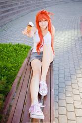 Do you want my ice cream? by Blairchik