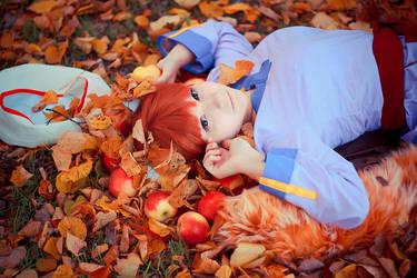 Apple dream of Horo by Blairchik
