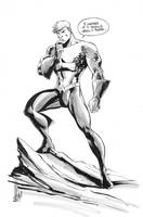 Aquaman sketch by Miketron2000