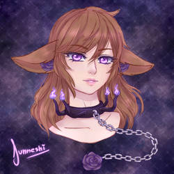 [AT] Chandelle Headshot by Junneshi