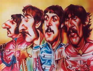 Beatles 'Sgt. Pepper' by JSaurer