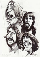 Beatles 'Let It Be' by JSaurer