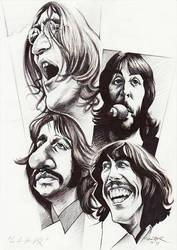 Beatles 'Let It Be' by JSaurer