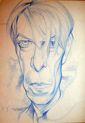 Bowie scetch by JSaurer