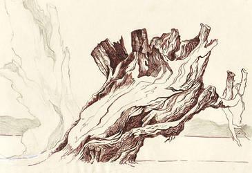 dead tree by JSaurer