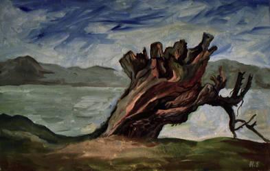 old dead tree by JSaurer