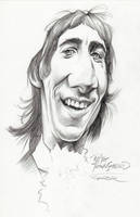 Pete Townshend in the 60s by JSaurer