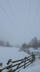 a foggy day in Moisburg by JSaurer