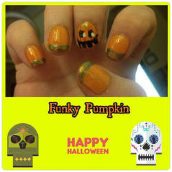 Funky Pumpkin by wyldflower