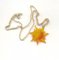 Tangled Sun Necklace by themermaidwillow