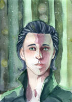 Young Loki by KeloLoconte