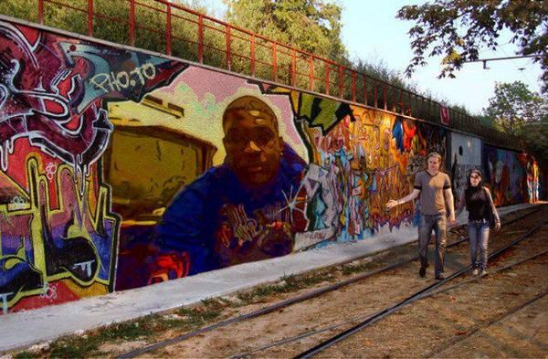Graffiti Protrait by johnnieblaze92