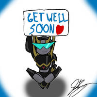Get Well Soon by TaintedTamer
