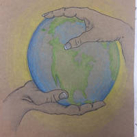 We have the world in our hands  by Jonesydragon