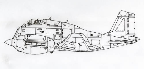 Heavy fighter WIP by pier-olin