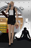 EVA KANT AT WORK by elenaevil