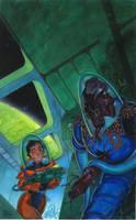 Alien Dead by MarkMoore