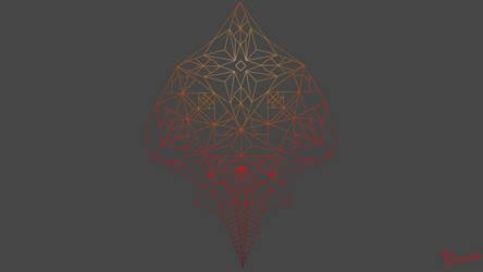 Geometric drawing by sitiSchu by SitiSchu