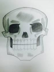 Skull by saksham111