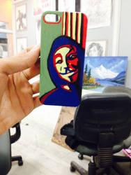 Phone cover painting by saksham111