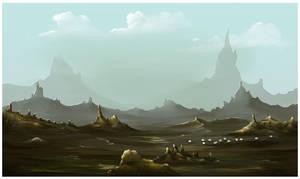 incisive hills by omerayar