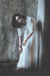 Abandoned puppet in a dark dusty corner III by MariaPetrova